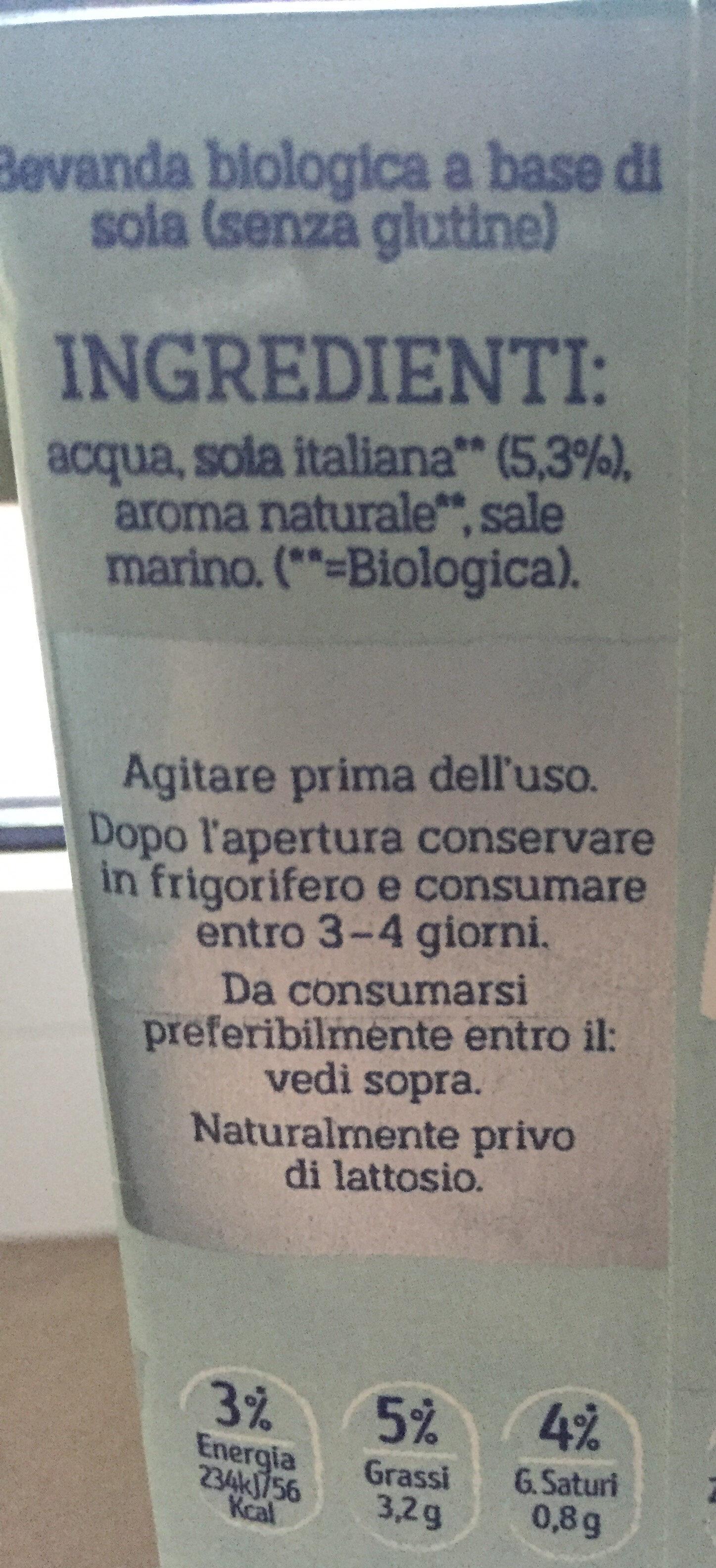 SOIA LIGHT - Ingredients