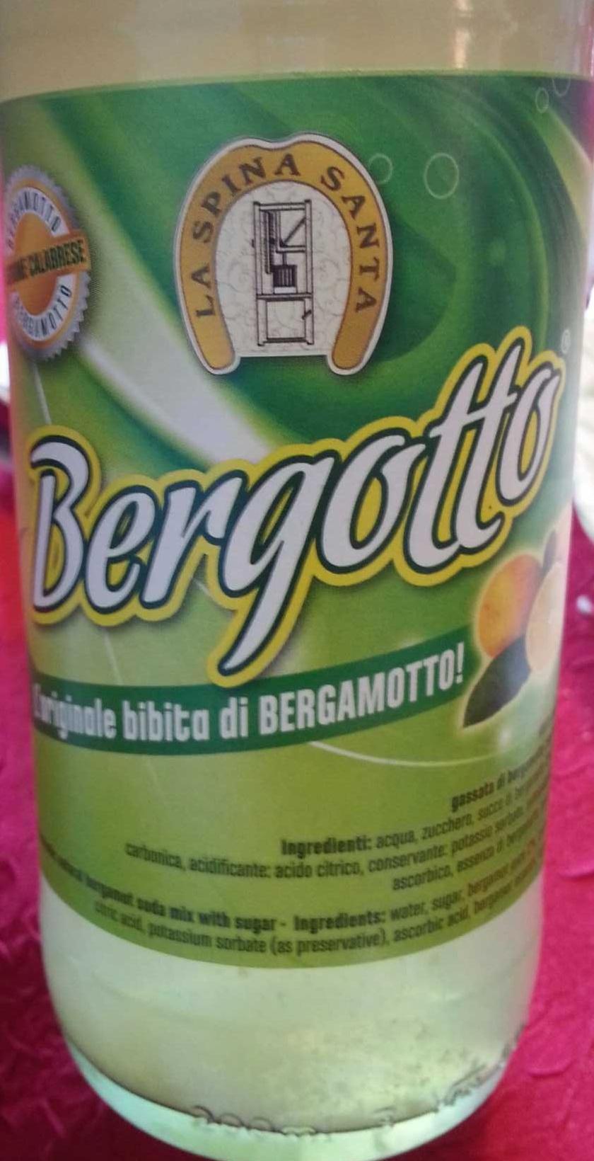 Bergamot soda! - Produit