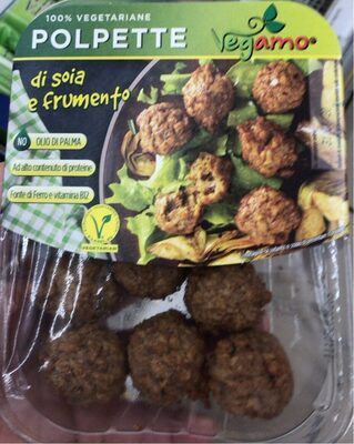 Polpette 100% vegetariane - Prodotto