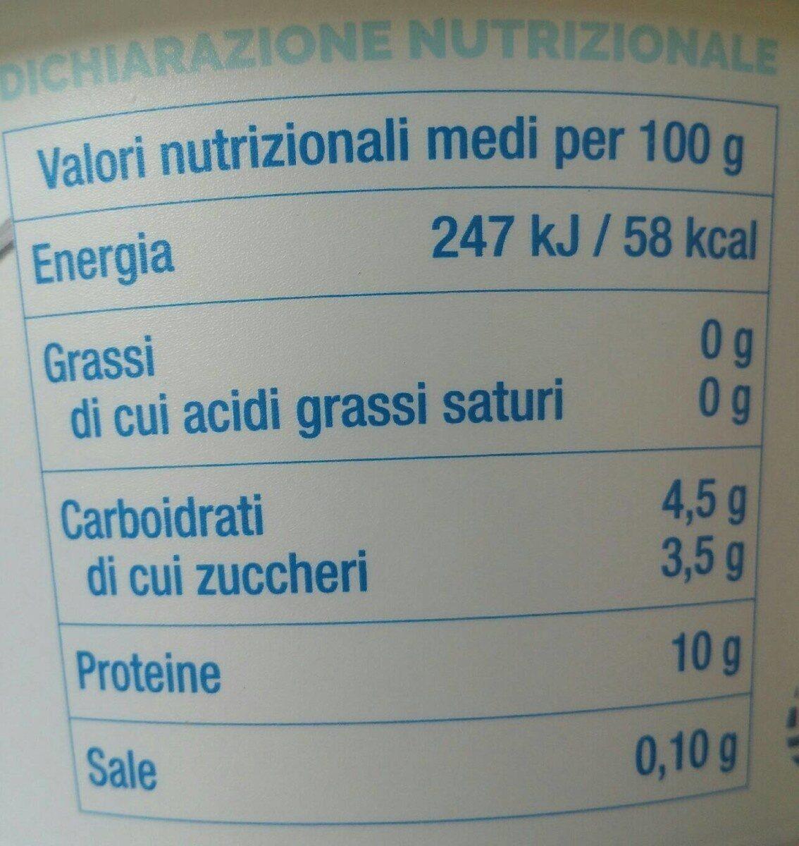 Yogurt Greco - Valori nutrizionali - it