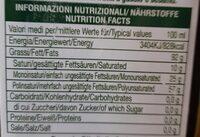 Olio di semi di girasole - Valori nutrizionali - fr