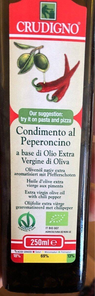 Condimento al Peperoncino - Product