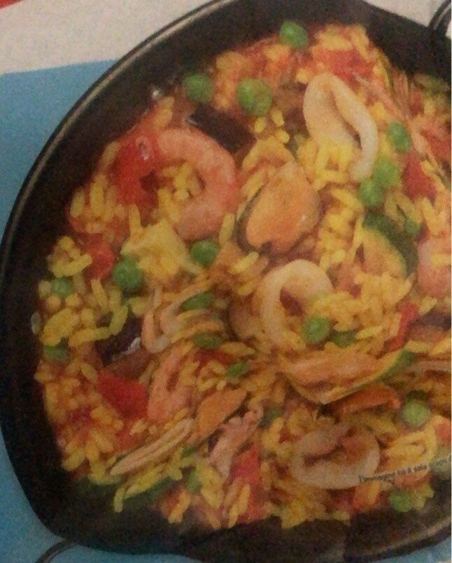 Paella di pesce - Product - en