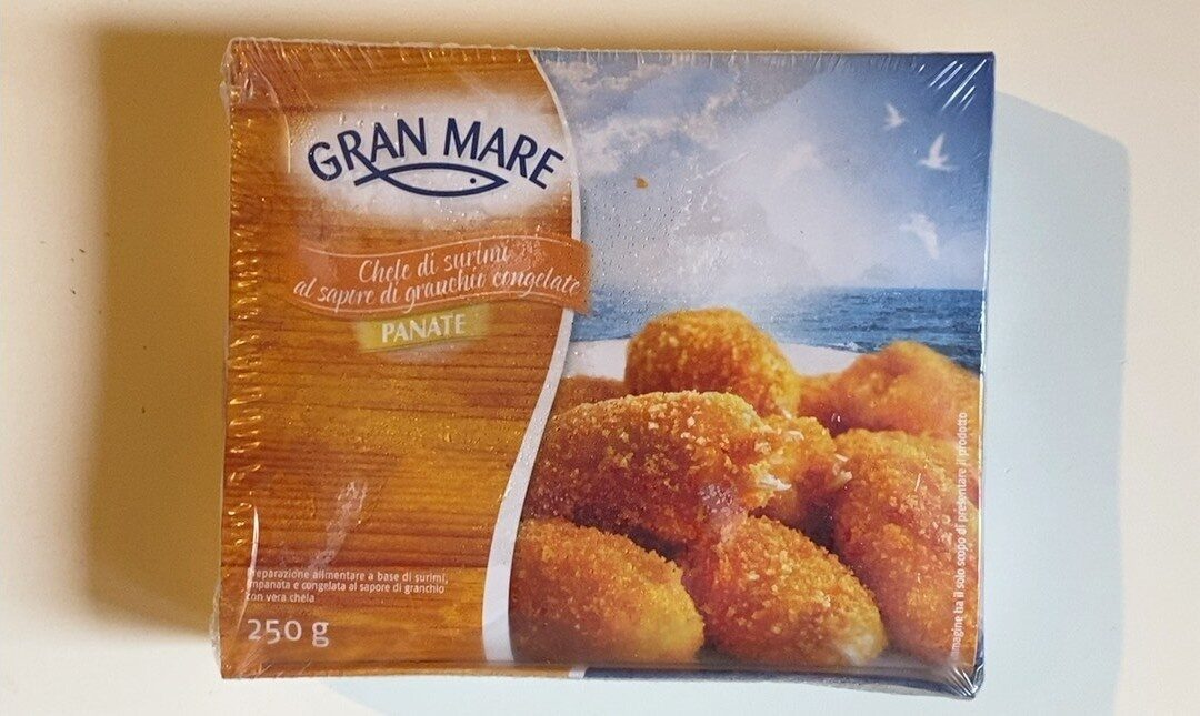 Chele di surimi al sapore di granchio congelate - Product - it