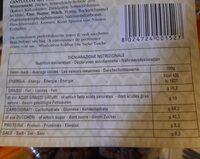 Cantuccini al cioccolato - Voedingswaarden - fr