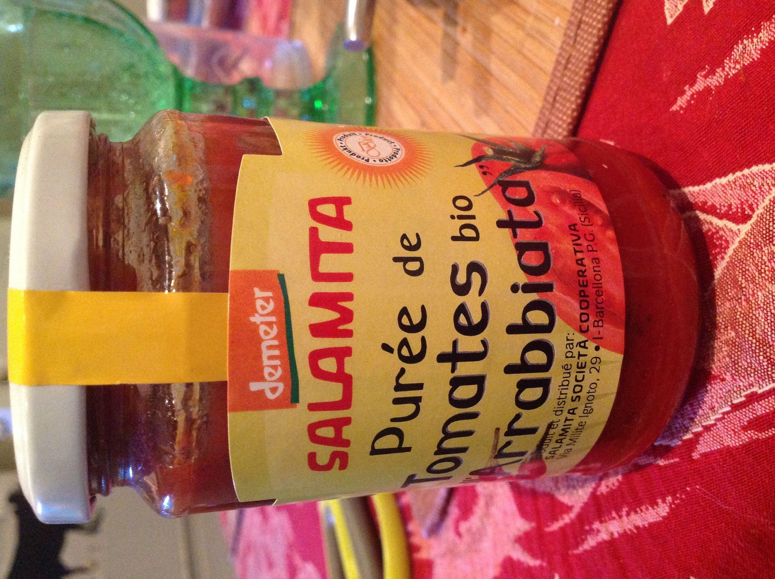 Purée de tomates bio arrabiata - Produit - fr