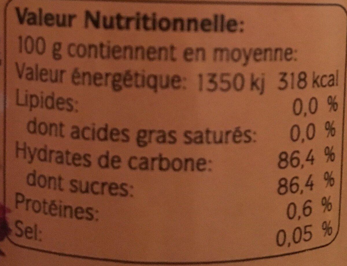 Miel de mille fleurs - Ingredients - fr