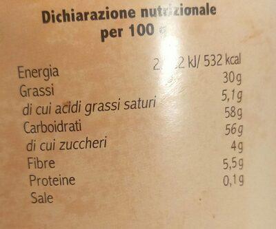 Equobonita - Valori nutrizionali - fr