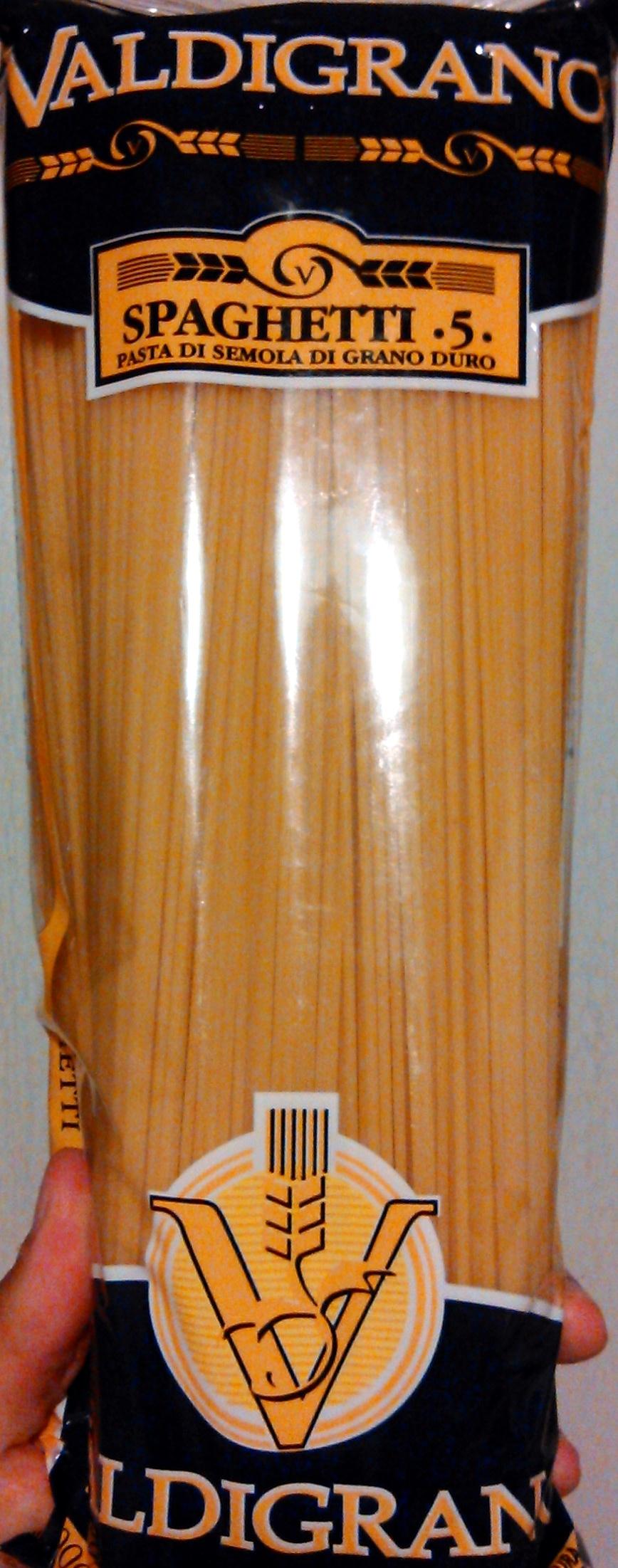 Spaghetti 5 - Product