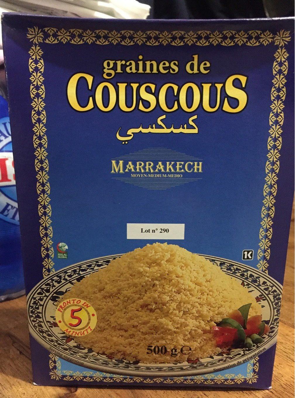 Graines de couscous - Produit - fr
