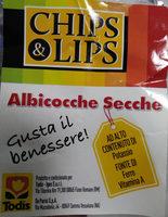 chips & lips albicocche secche - Prodotto