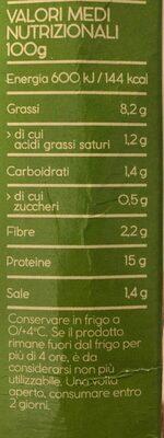 Tofu fume - Valori nutrizionali - it