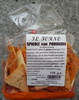 Spigole con pomodoro - Produit
