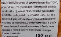 Spigole con pomodoro - Ingredients