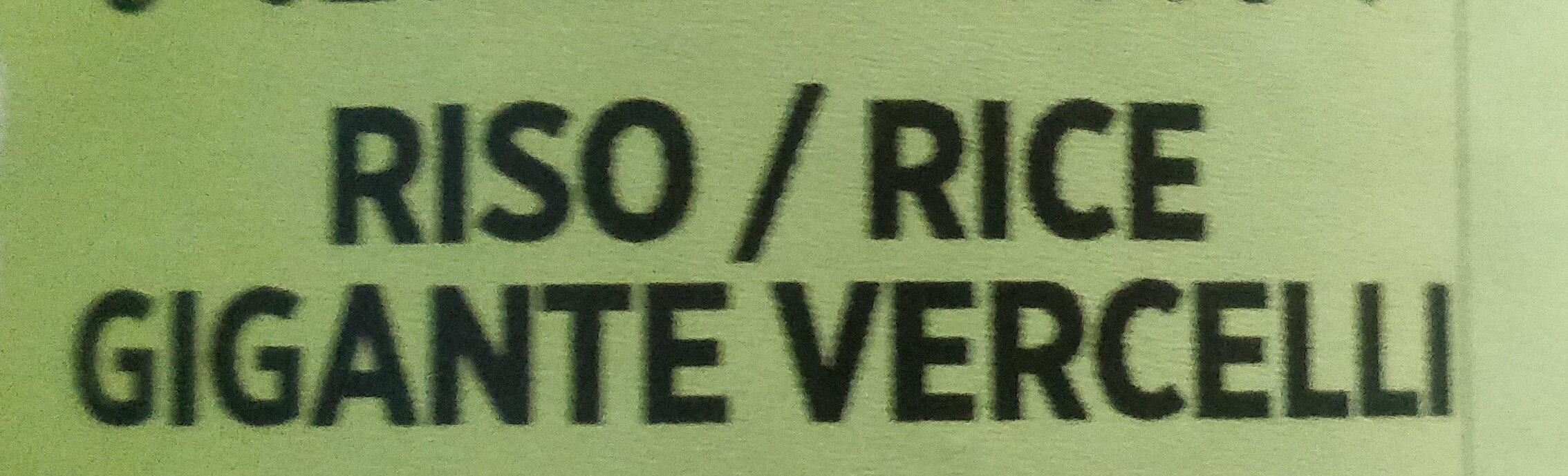 Riso gigante Vercelli - Ingredients - it