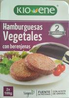 Hamburguesas vegetales con berenjenas - Producto - es