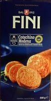 Cotechino modena - Produit