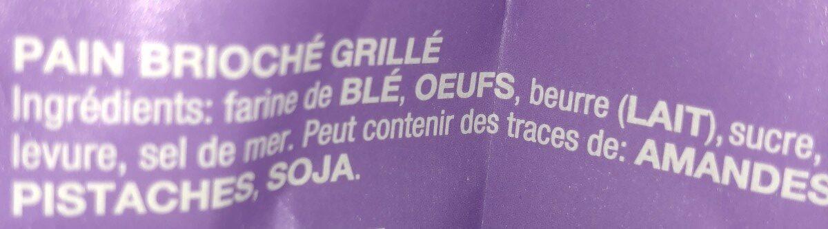 Biscotti - Ingrédients - fr
