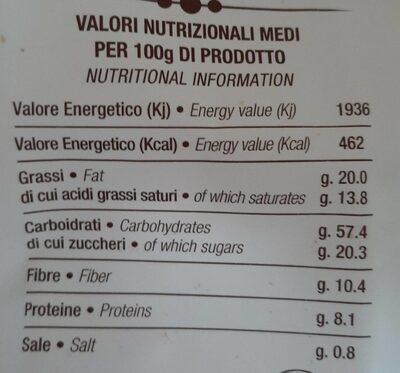 Cioco - Nutrition facts - it