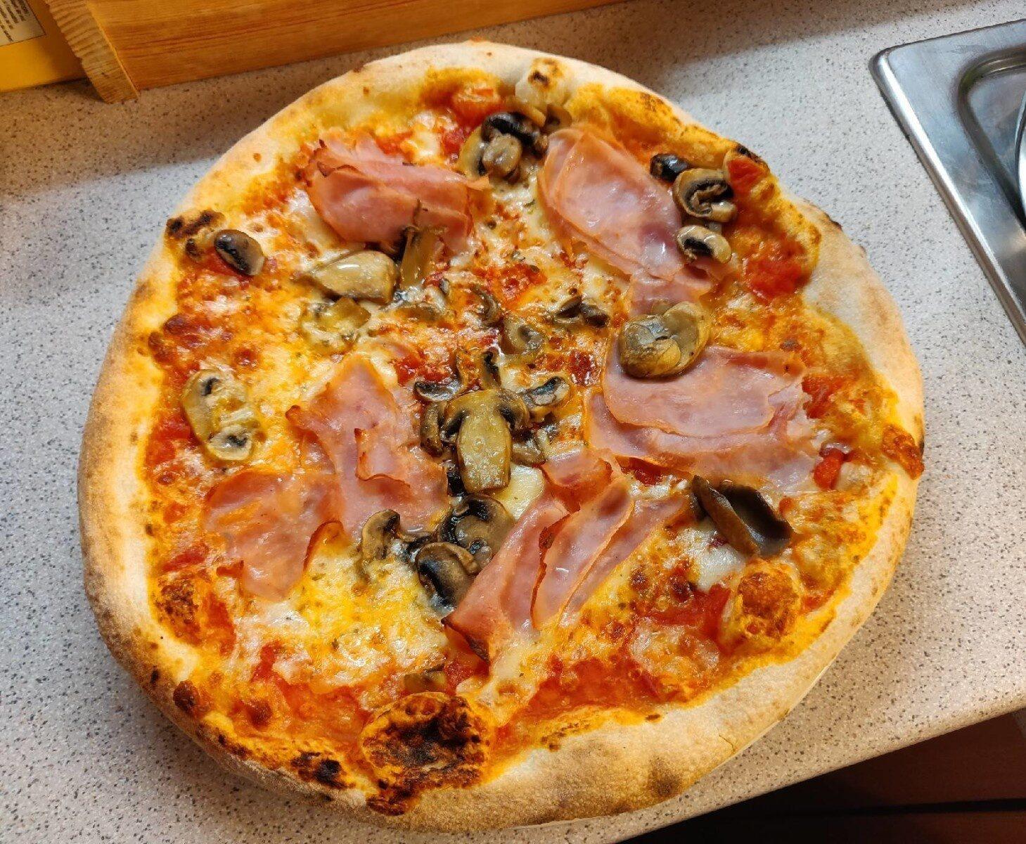 Pizza prosciutto & funghi - Product - fr