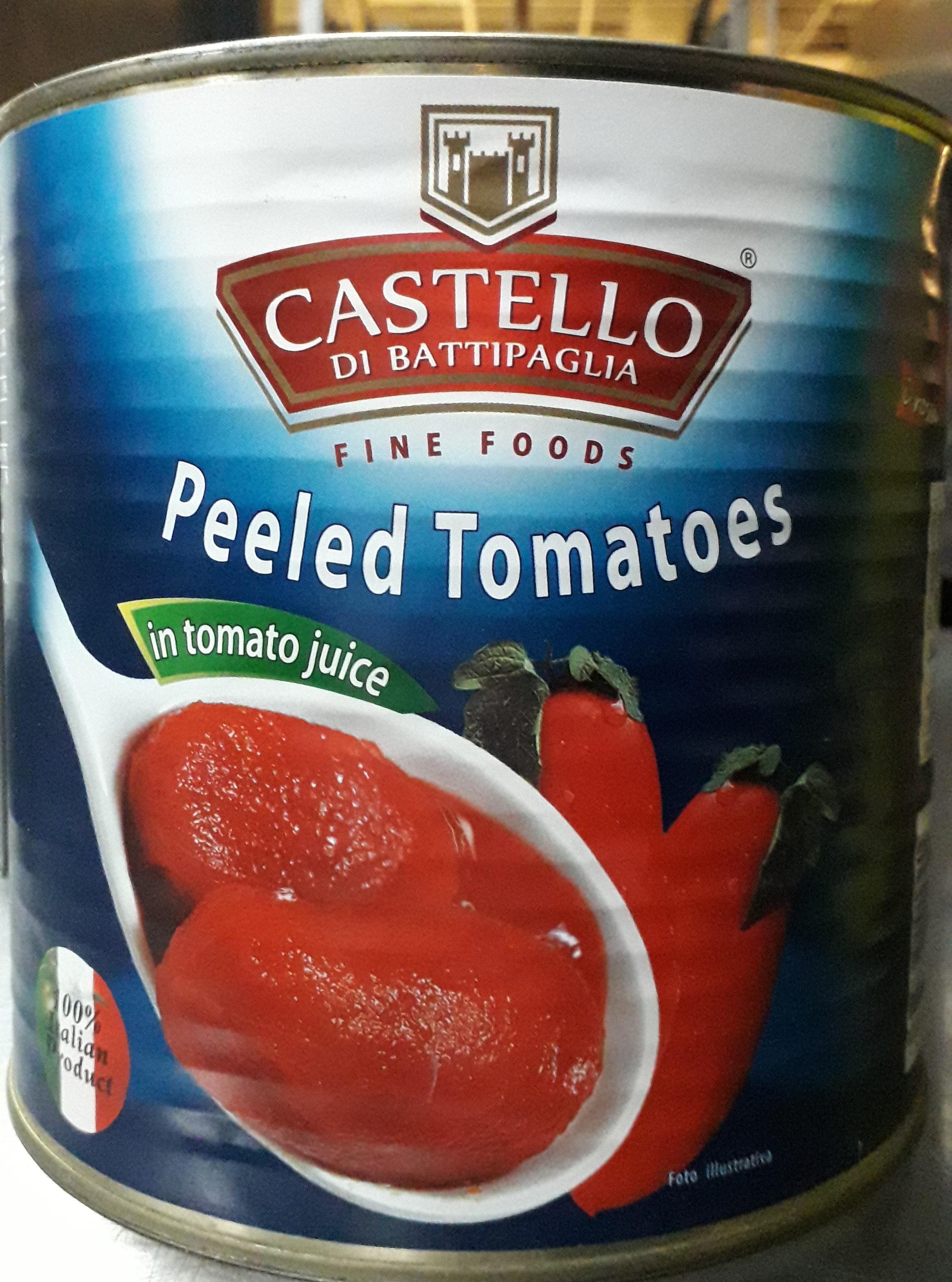 Peeled Tomatoes in tomato juices - Produit