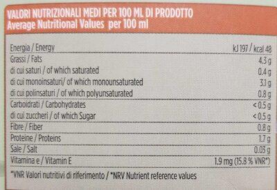 Latte di Mandorla - Informations nutritionnelles - fr