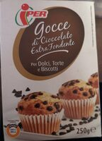 Gocce di cioccolato extra fondente - Produit - it