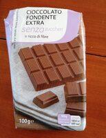 cioccolato fondente extra senza zuccheri - Produit - it