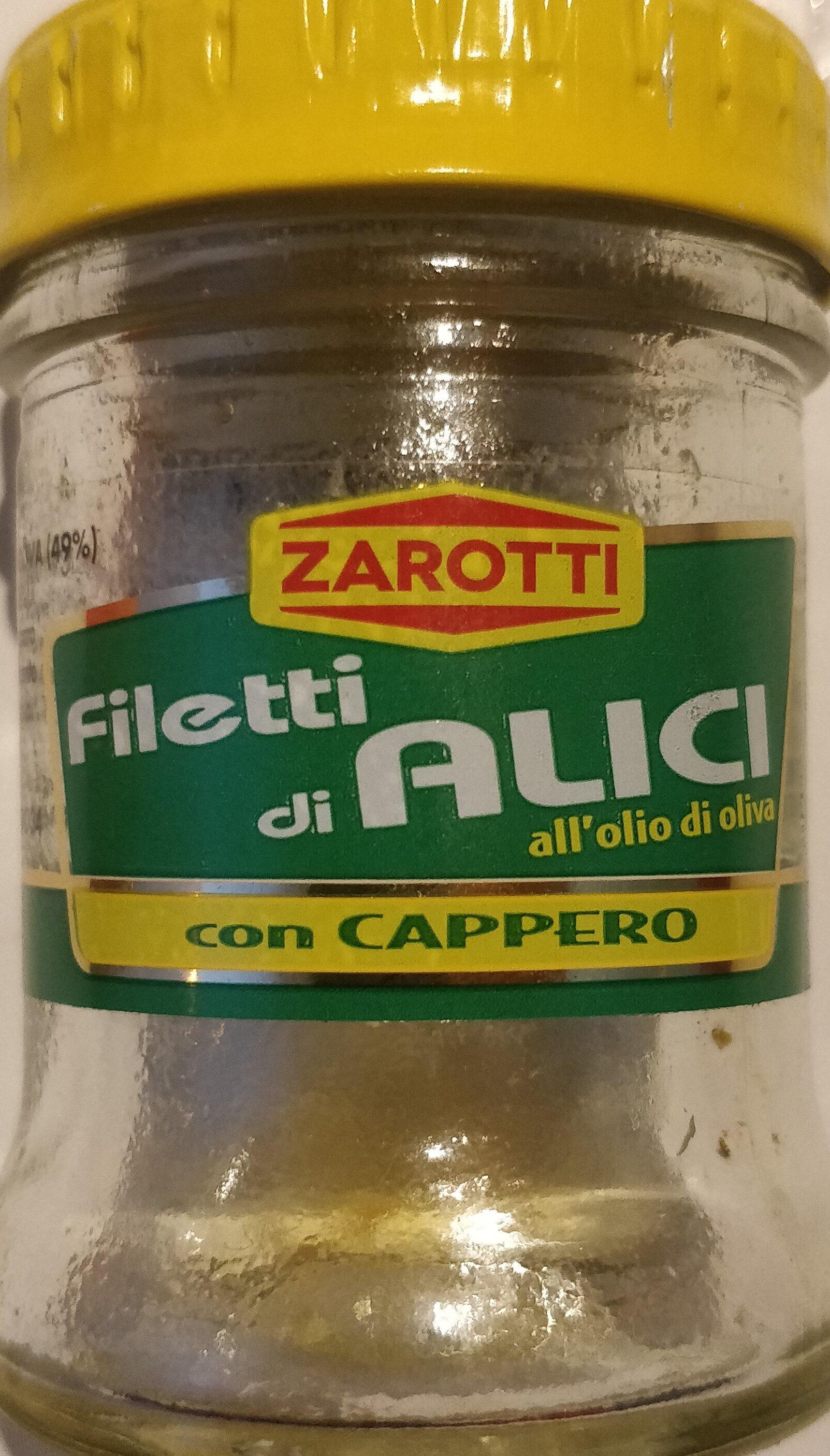 filetti di alici all'olio di oliva - Produit - it