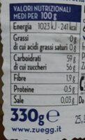 Confettura ai Fichi - Voedingswaarden - de