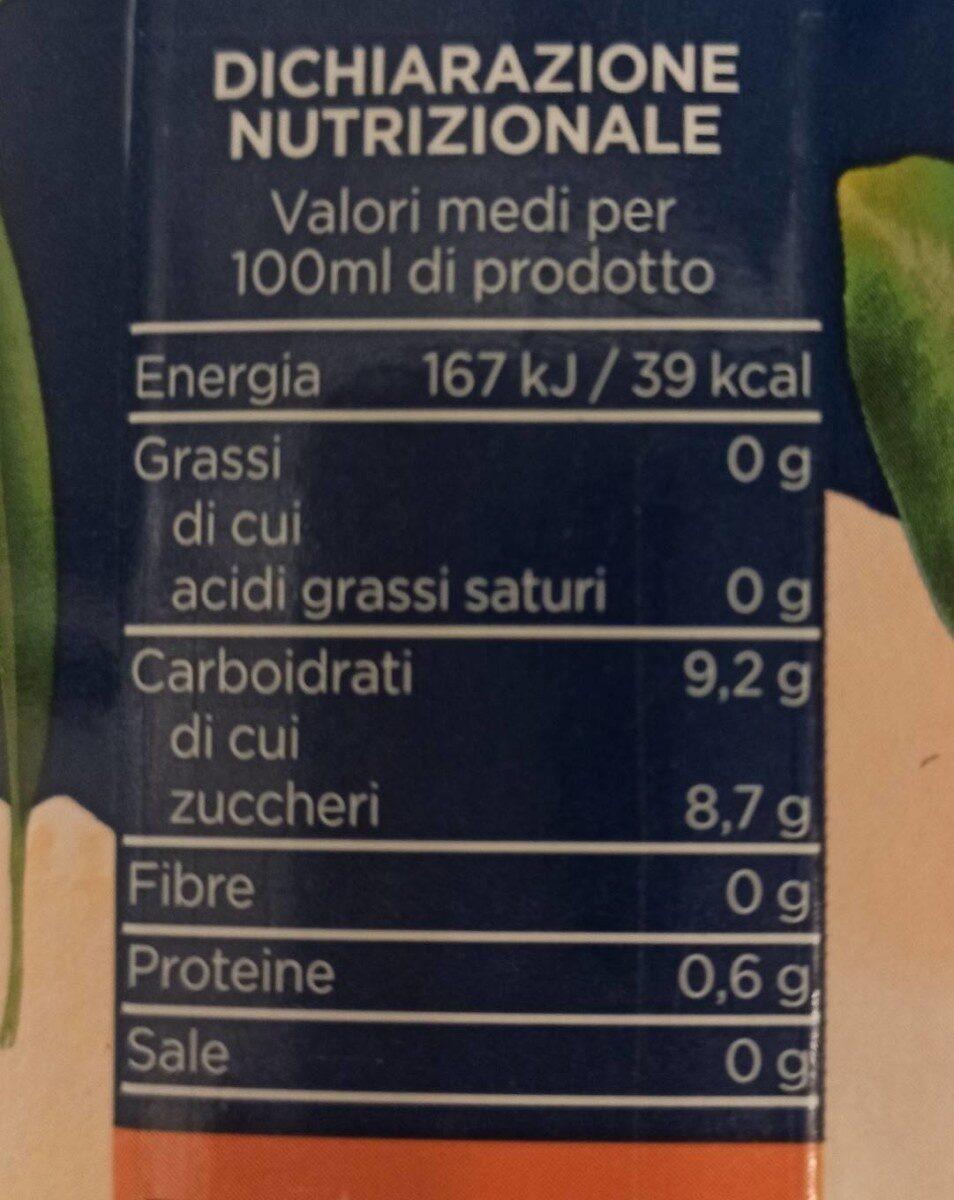 100% Arancia - Valori nutrizionali - it