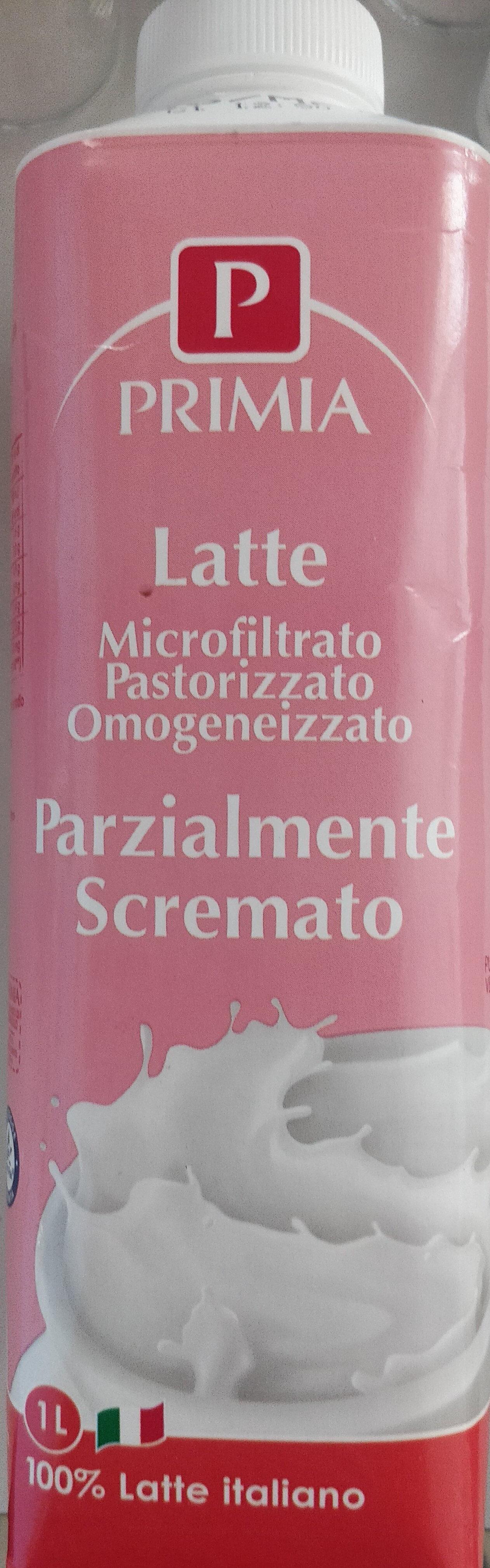 Latte parzialmente scremato - Prodotto - it