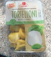 Tortelloni ricotta e spinaci - Prodotto - it