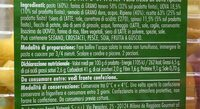 Tortelloni ricotta e spinaci - Valori nutrizionali - it