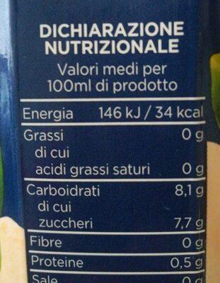 100% Pompelmo - Valori nutrizionali - it