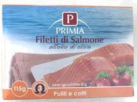Filetti di salmone all'olio di oliva - Produit - it