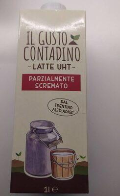 Il gusto contadino latte uht parzialmente scremato - Prodotto - it