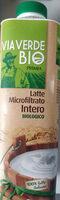 latte microfiltrato intero biologico - Prodotto - it