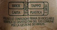 latte microfiltrato intero biologico - Istruzioni per il riciclaggio e/o informazioni sull'imballaggio - it