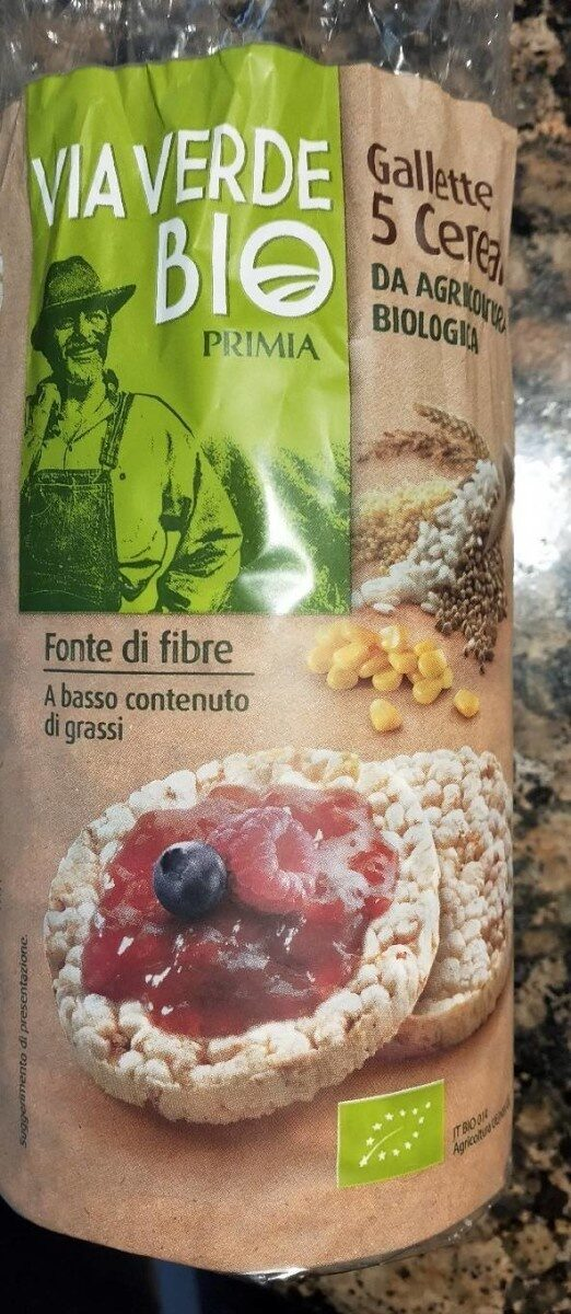 Gallette 5 cereali - Product