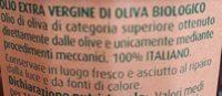 Olio extra vergine di Oliva - Ingrédients - it
