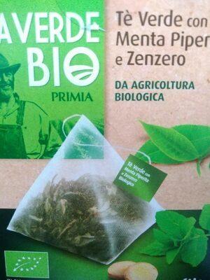 Tè verde con Menta Piperita e zenzero - Prodotto - it
