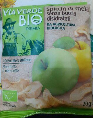 Spicchi di mela senza buccia disidratati - Prodotto - fr