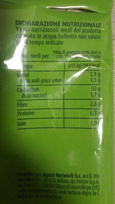Tortellini ricotta e spinaci - Valori nutrizionali - it