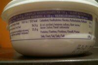 Mascarpone - Nutrition facts