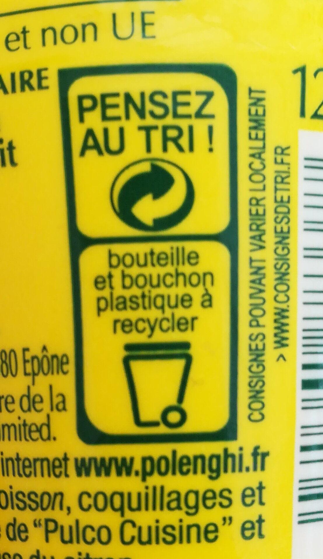 Pulco cuisine - Instruction de recyclage et/ou informations d'emballage - fr