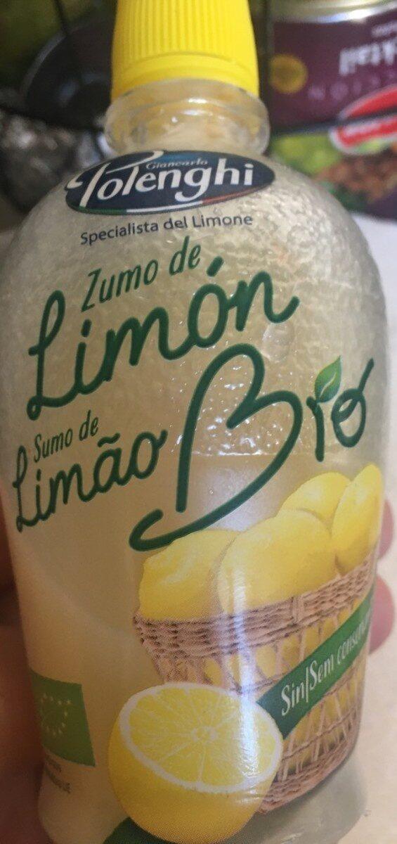 Zumo de limon bio - Product