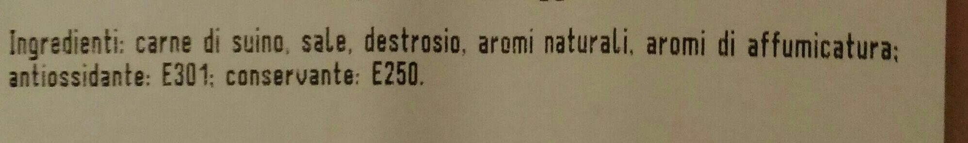 Prosciutto cotto Praga - Ingredients - it
