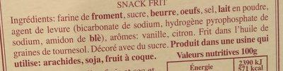 Ricciolines - Ingrediënten