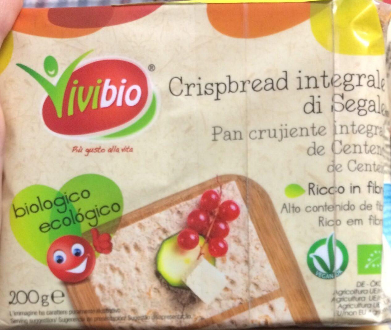 Crispbread integrale di segale - Product - fr